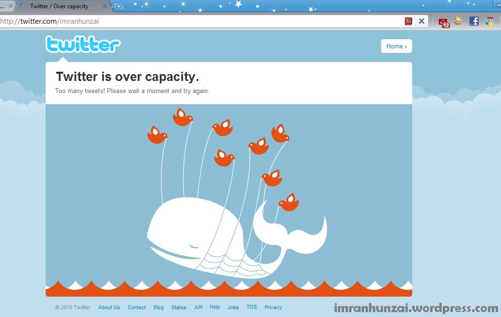 Twitter is Overcapacity