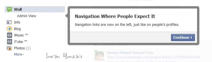 Navigation Where People Expect It