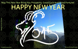 Happy New Year 2015 and More…