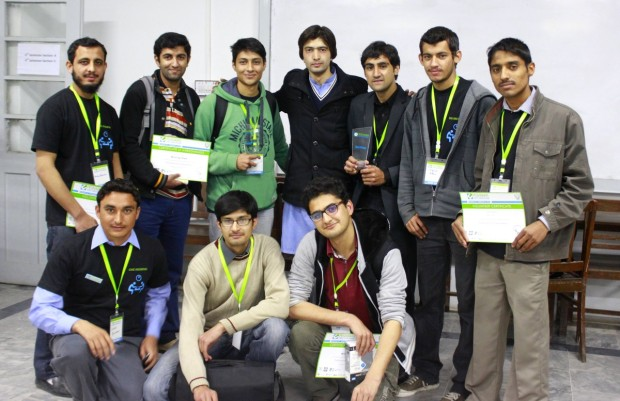 Peshawar Civic Hackathon 2014 Winners